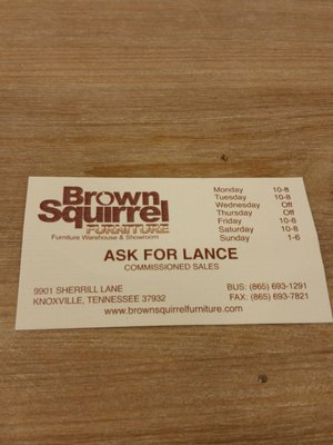 Brown Squirrel Furniture 9901 Sherrill Blvd Knoxville, TN Furniture Stores    MapQuest