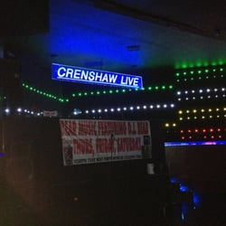 Photo Of Crenshaw Live Bar Grill