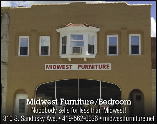 Midwest Furniture/Bedroom: 310 S Sandusky Ave, Bucyrus, OH
