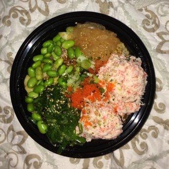 Poke bowl order online 174 photos 138 reviews poke for Fish me poke menu