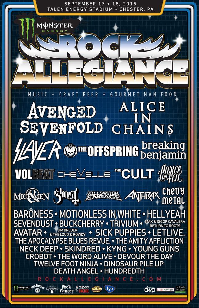 Rock Allegiance: 1 Stadium Dr, Chester, PA