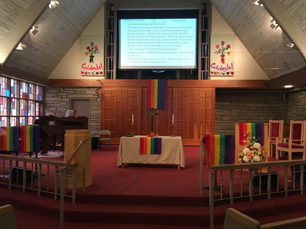 Oak Grove United Methodist Church: 14700 SE Rupert Dr, Portland, OR
