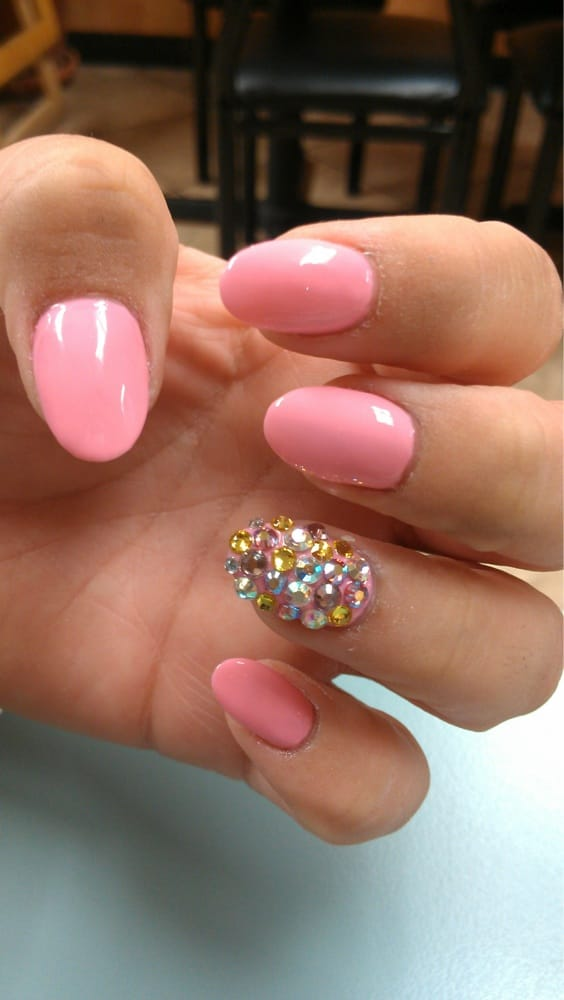 Photo of Nails By Vicky - Long Beach, CA, United States. Round tip - Round Tip Nail Designs Graham Reid