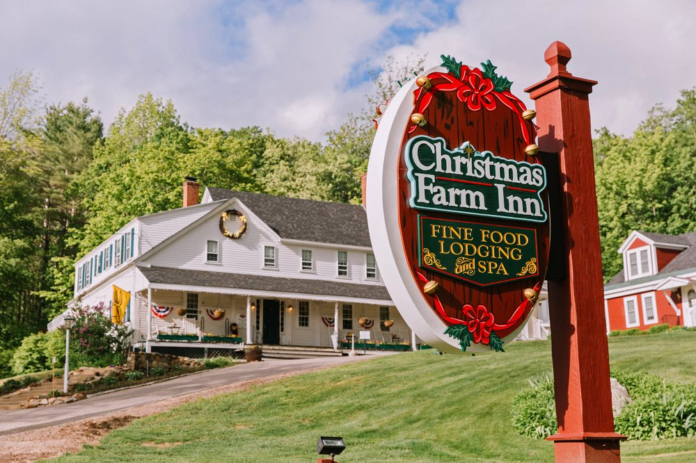 Christmas Farm Inn And Spa.Front Sign And Main Inn At The Christmas Farm Inn Spa Yelp