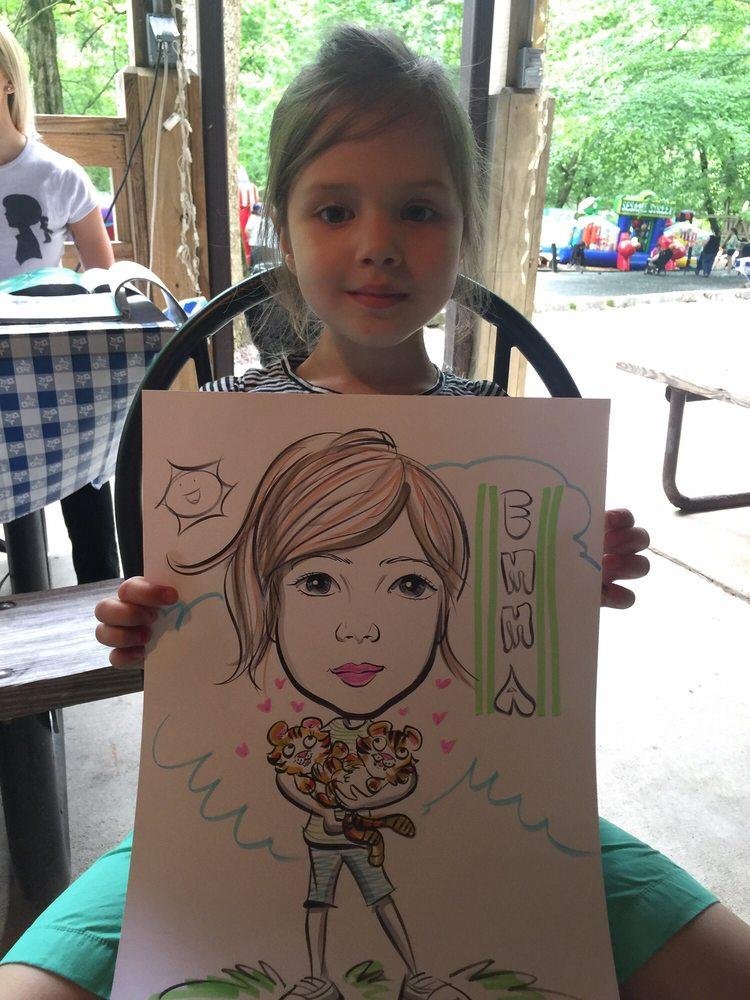 Caricature Artists Group: 3700 Terrace Dr, Annandale, VA