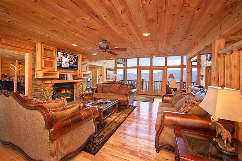 leconte gatlinburg luxurious htm upscale large lodge view tn cabins luxury