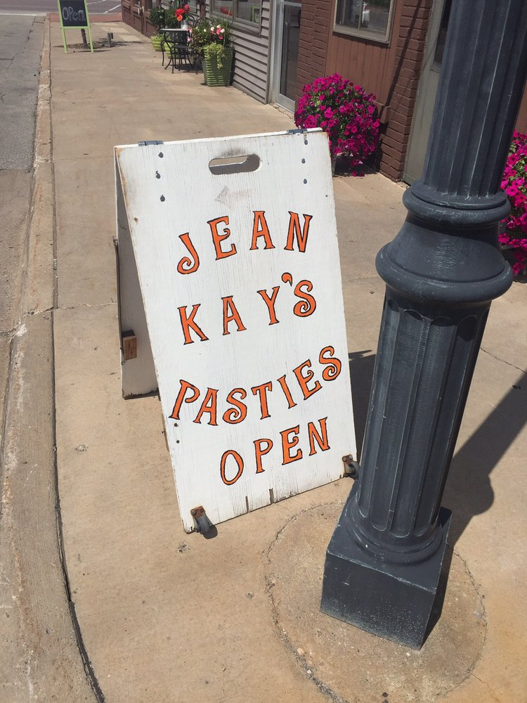 Jean Kay's Pasties: 204 E B St, Iron Mountain, MI