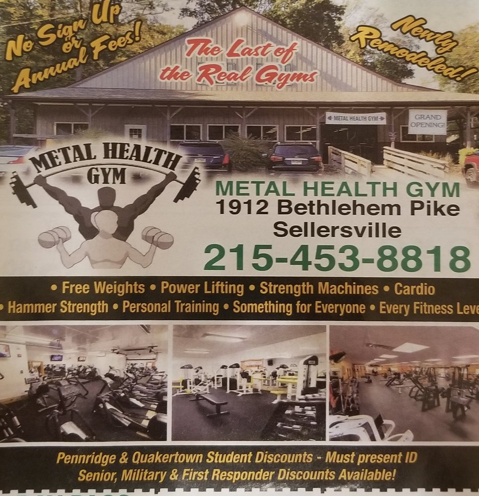 Metal Health Gym
