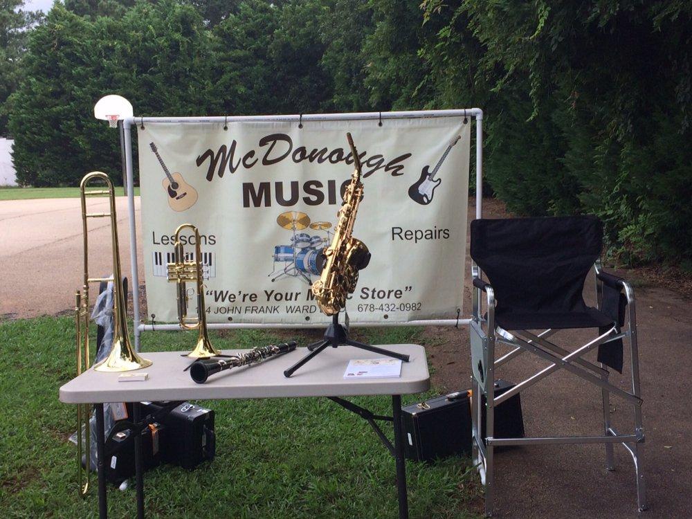 McDonough Music: 184 John Frank Ward Blvd, McDonough, GA