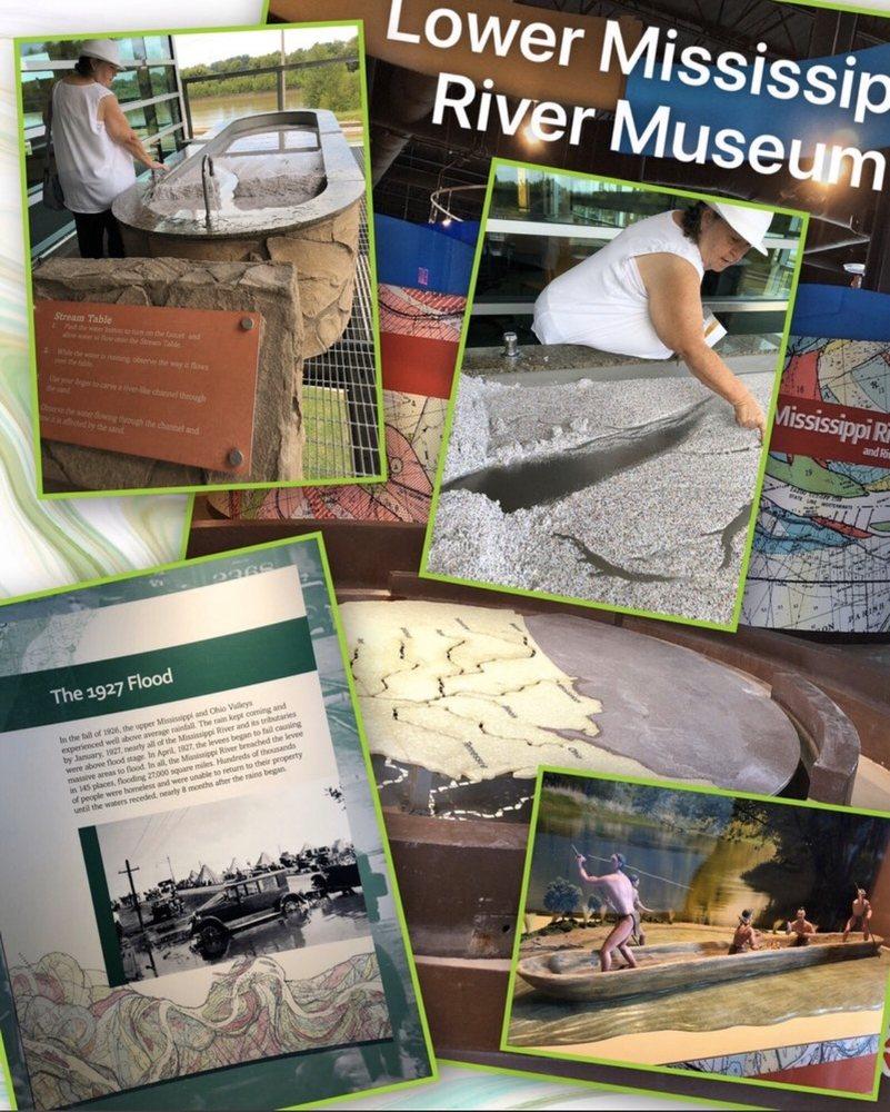 Jesse Brent Lower Mississippi River Museum: 910 Washington St, Vicksburg, MS