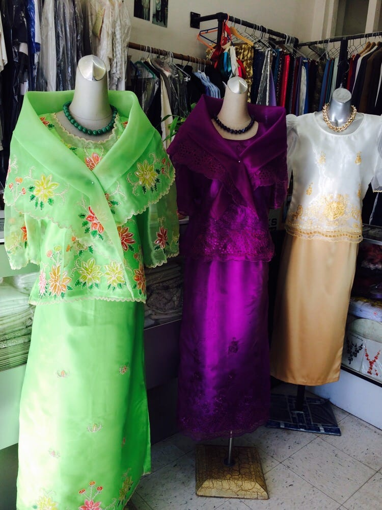 Kimona terno yelp for Custom dress shirts los angeles