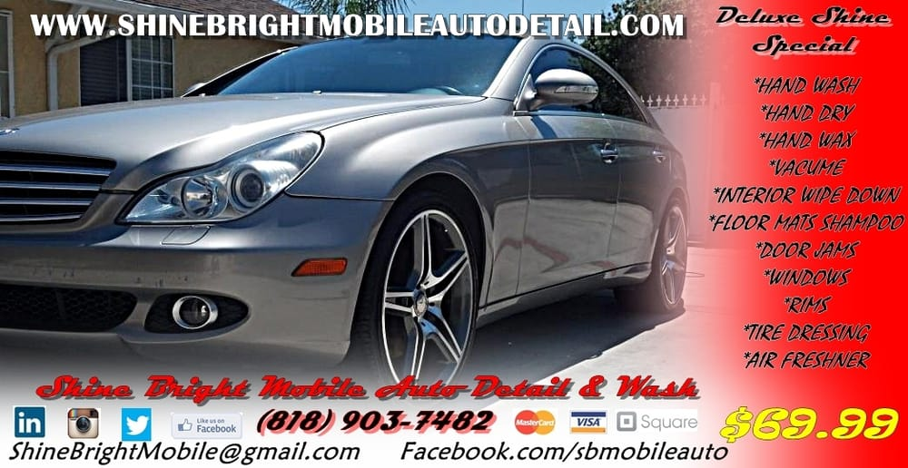 Shine bright mobile auto detail wash closed for Bent creek motors inventory
