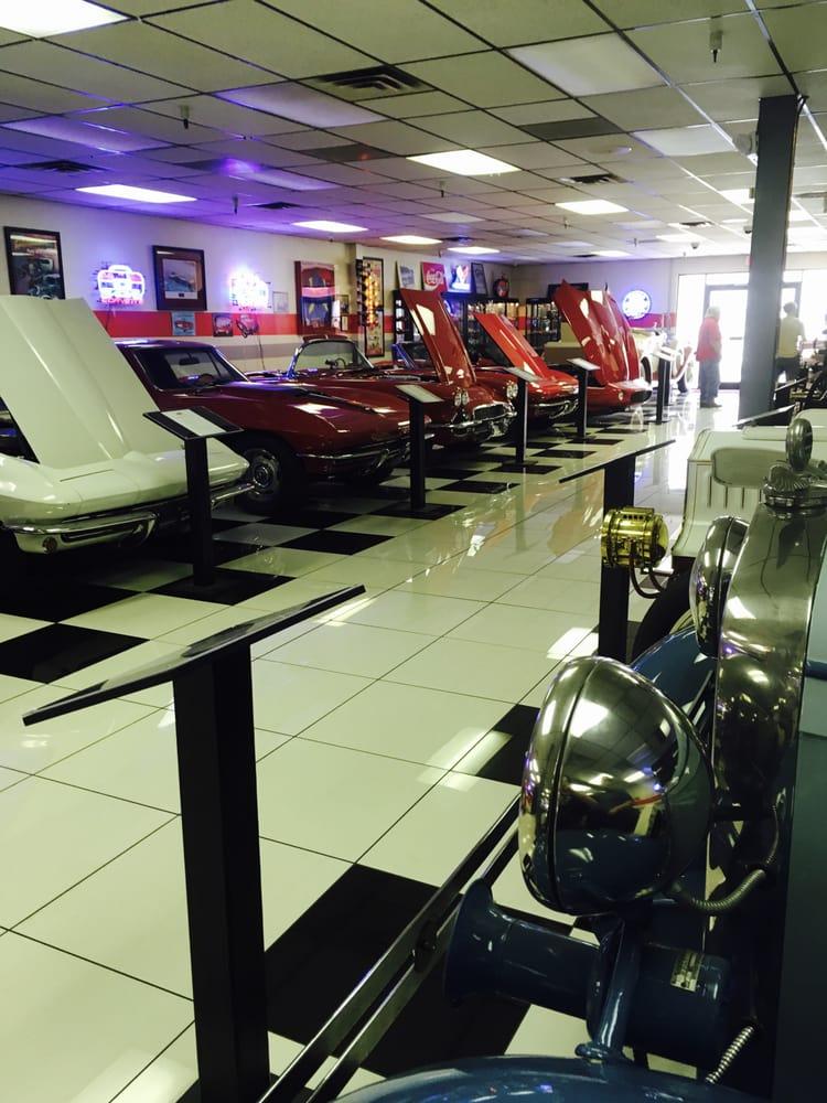 Lots of Corvettes Yelp