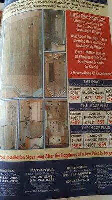 Shower Door 4185 Merrick Rd 4183 Mapequa Ny Home Improvements Mapquest