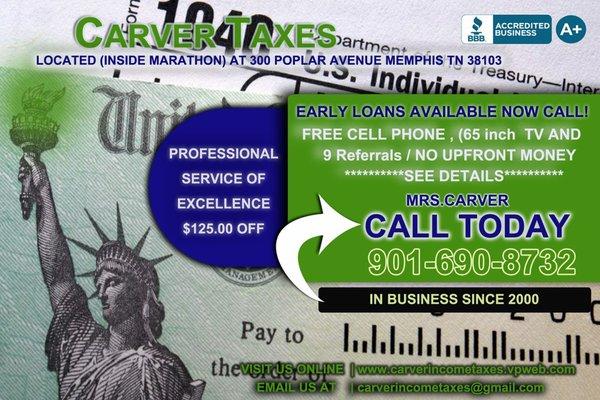 Carver Taxes