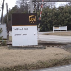 United Parcel Service - Shipping Centers - 9601 Coach Rd, Richmond ...