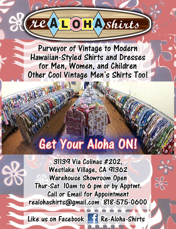 re Aloha Shirts: 31139 Via Colinas, Westlake Village, CA