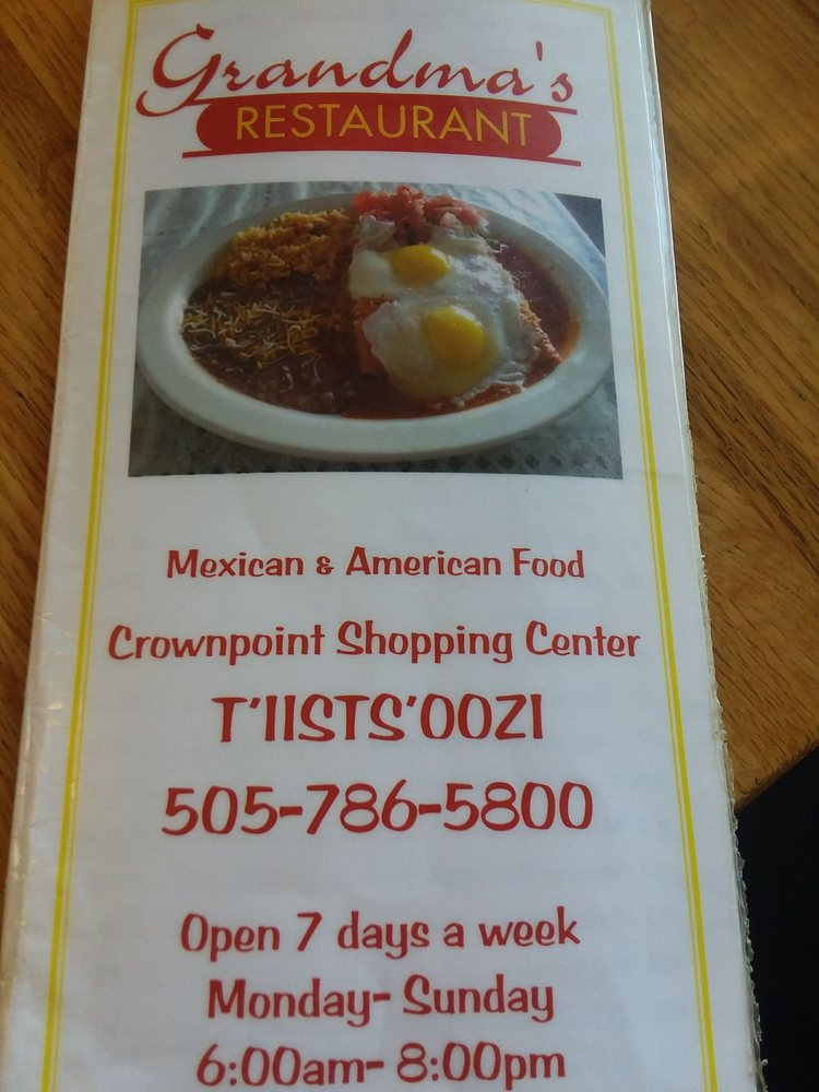 Grandma's Restaurant: Nav Nat Shopping Ctr, Crownpoint, NM