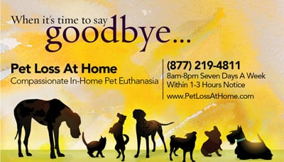 Pet Loss At Home - Home Euthanasia Vets: Fort Lauderdale, FL
