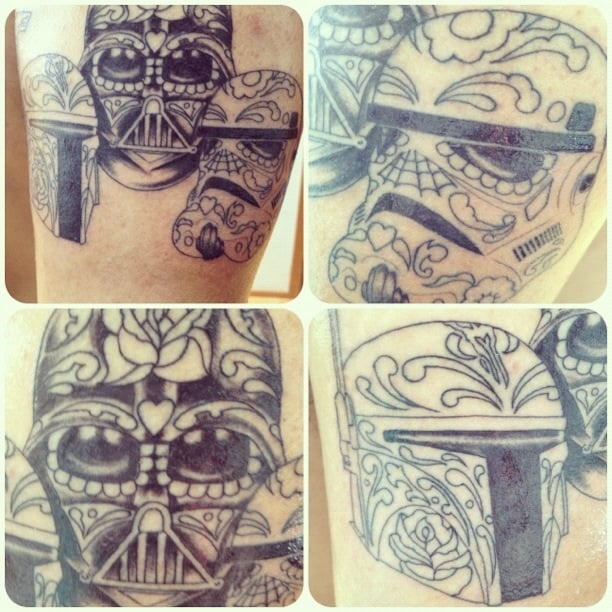 Newest piece got it on may 4th may the fourth be with for Pierced hearts tattoo parlor
