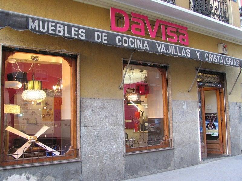 Davisa furniture stores calle de argumosa 27 for Furniture stores madrid