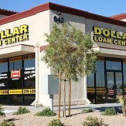 Dollar Loan Center Henderson Nevada
