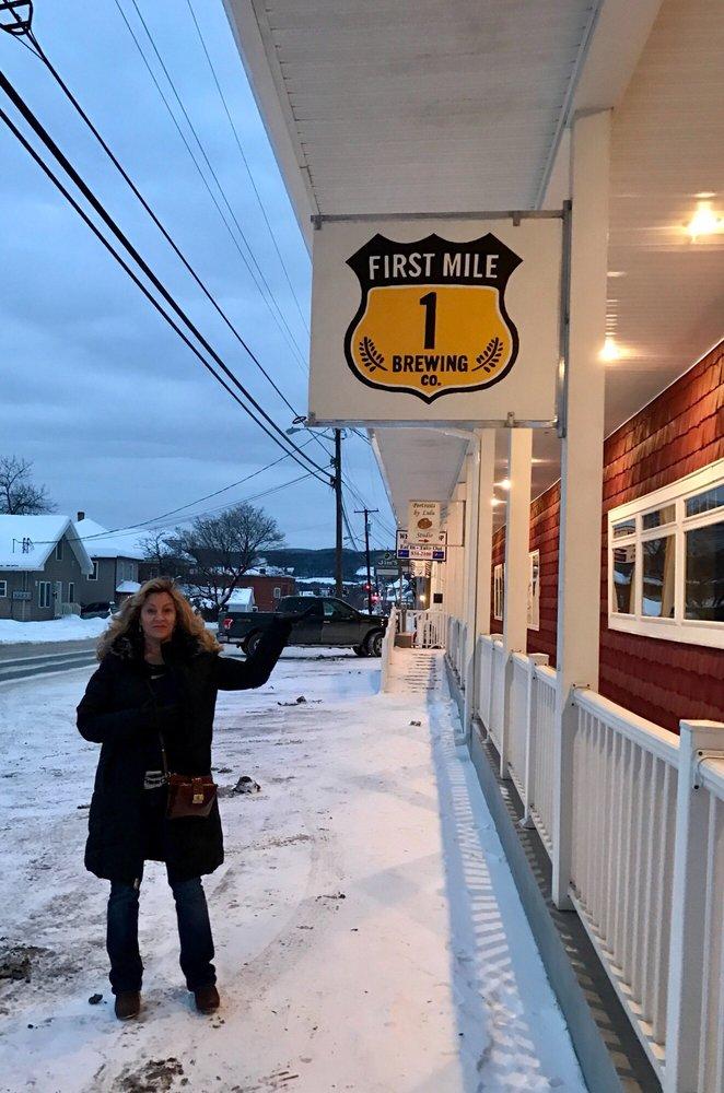 First Mile Brewing: 28 Market St, Fort Kent, ME