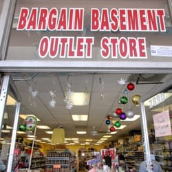 Image result for bargain basement