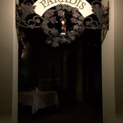 Photo Of Restaurant Paradis Rosemary Beach Fl United States Under This Sign