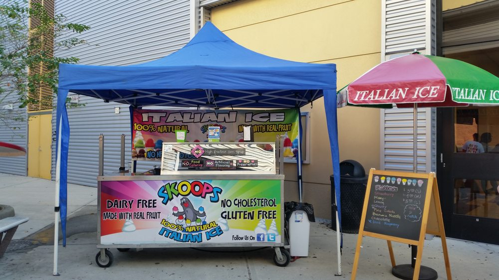 Skoops Natural Italian Ice: Brandon, FL