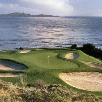 Photo Of Pebble Beach Golf Links Ca United States