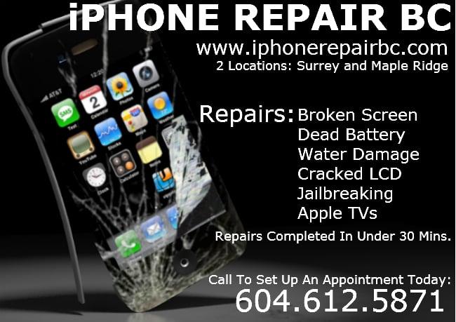 Iphone  Screen Repair Langley