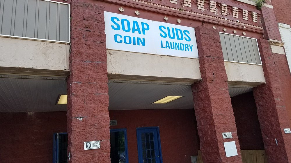 Soap Suds Coin Laundry: 282 N Main St, Jellico, TN