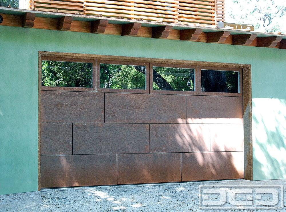 Photo of Dynamic Garage Door - Anaheim CA United States. Corten Steel Garage & Corten Steel Garage Door Manufacturer in Los Angeles CA ...