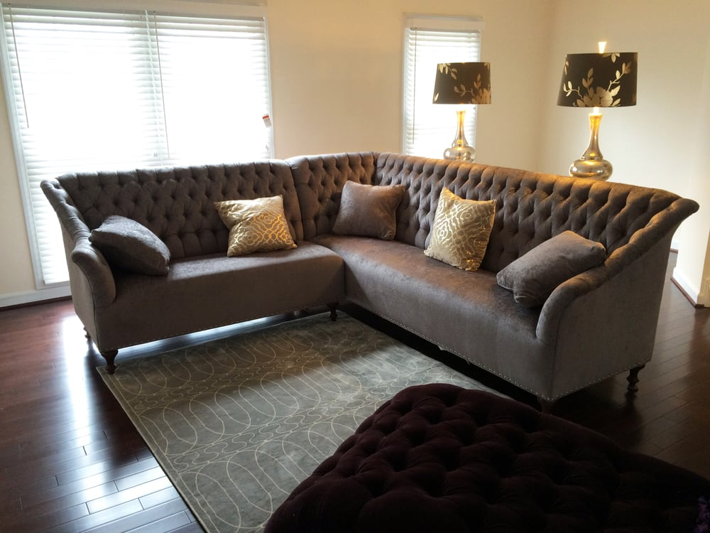 Photo Of Arhaus   McLean, VA, United States. Our Custom Fabric Fiona  Sectional