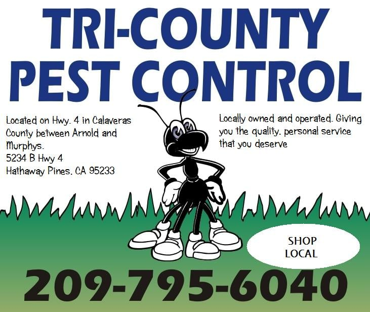 Tri-County Pest Control: 5234 Hwy 4, Hathaway Pines, CA
