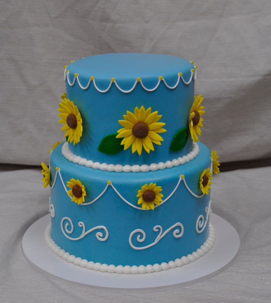 Frozen sunflower cake Yelp