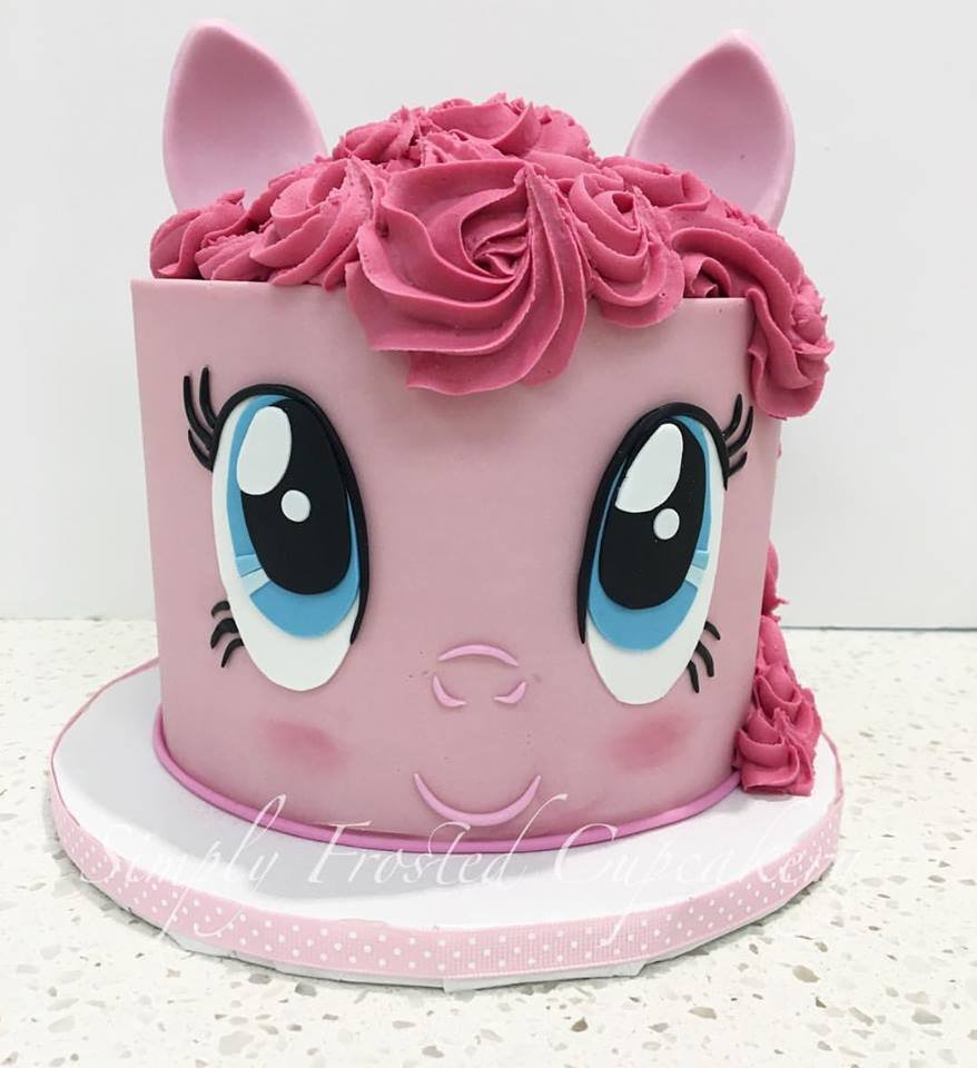 Pinkie Pie My Little Pony Cake