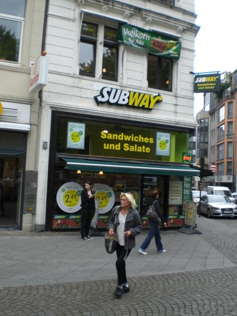 subway geschlossen fast food rudolfplatz 2 apostelnviertel k ln nordrhein westfalen. Black Bedroom Furniture Sets. Home Design Ideas