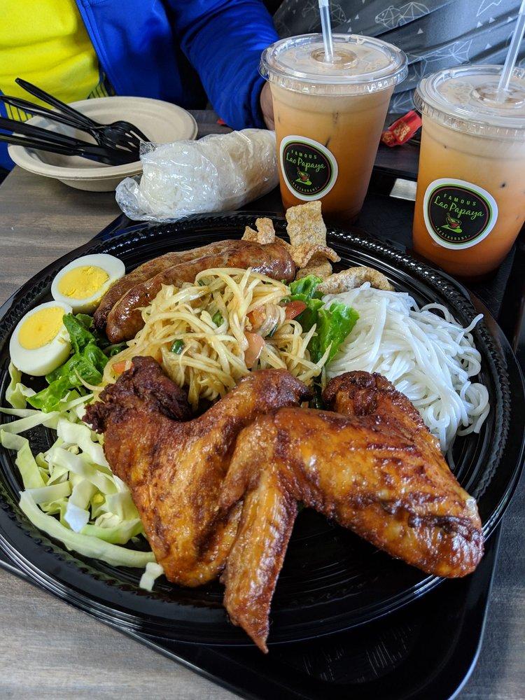 Famous Lao Papaya Restaurant