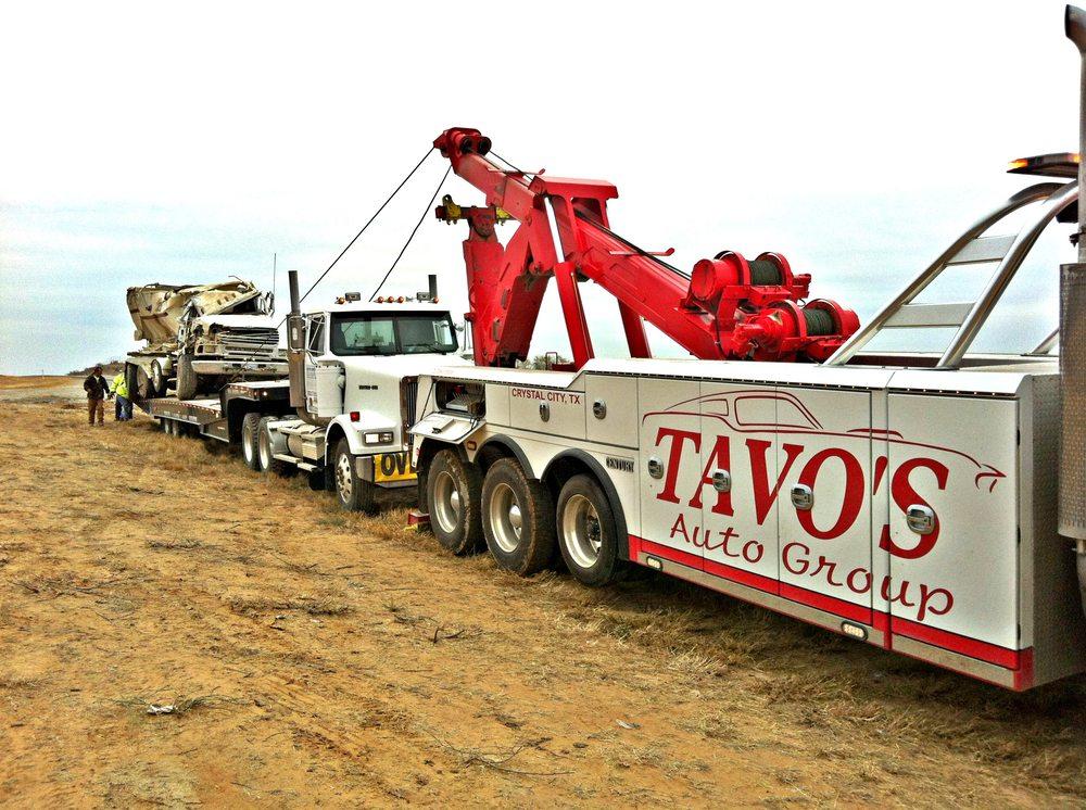 Tavo's Towing: 802 Veterans Ave, Crystal City, TX