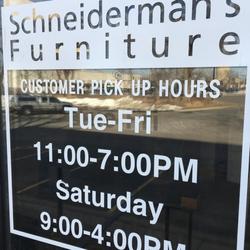 Photo Of Schneidermanu0027s Furniture   Burnsville, MN, United States. Customer  Pick Up Hours