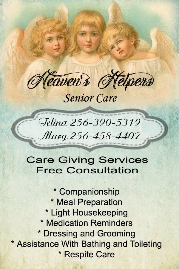 Heaven's Helpers: 365 Grandview Dr, Altoona, AL