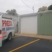Before Photo Of Express Garage Door Service   Green Bay, WI, United States.