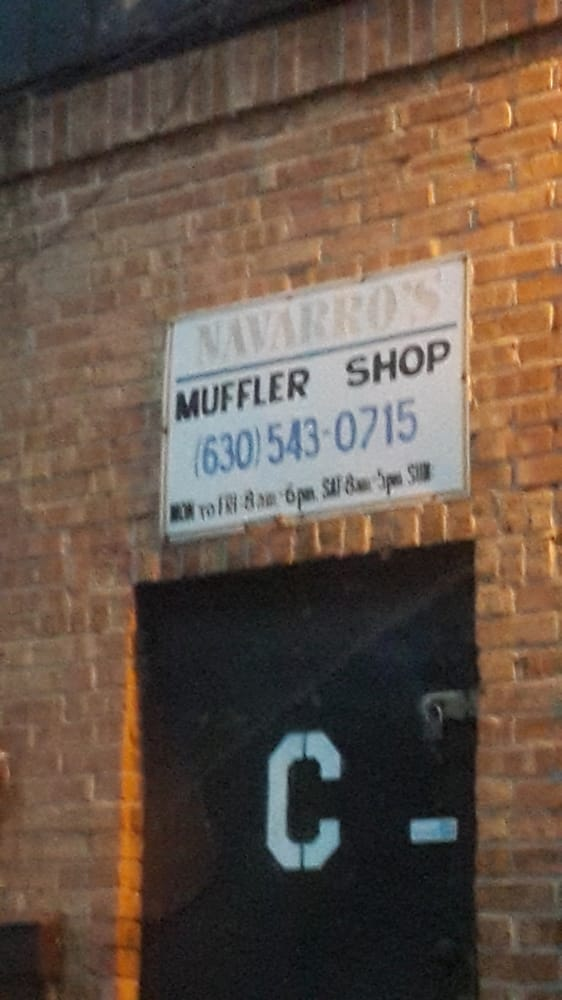 Navarro's Muffler Shop: 524 S Westgate St, Addison, IL