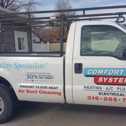 Photo Of Comfort Systems Heating Cooling Plumbing Wichita Ks United States