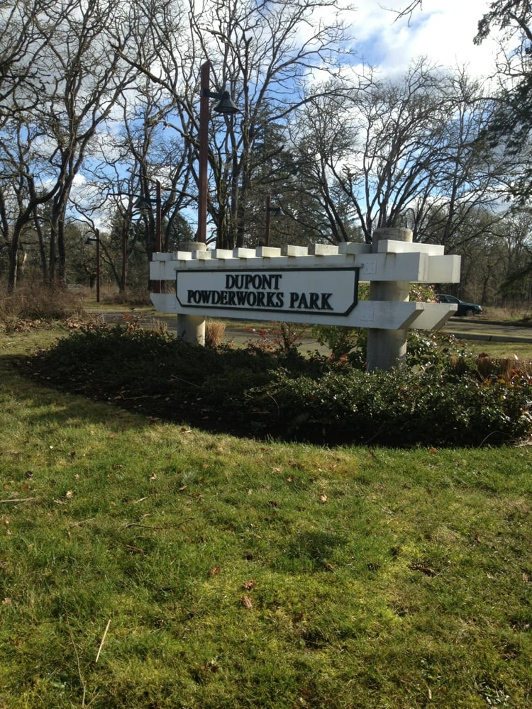 Dupont Powderworks Park: 1775 Bob's Hollow Ln, Dupont, WA