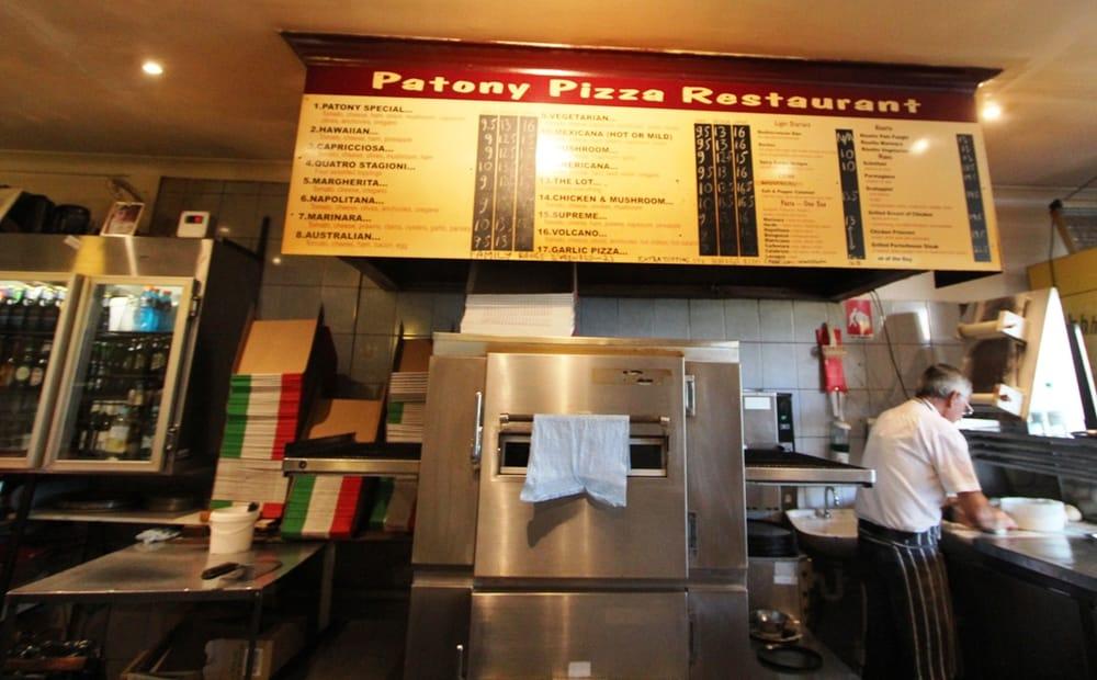 Patony Pizza Restaurant South Melbourne