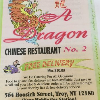 A Dragon Chinese Restaurant Troy Ny