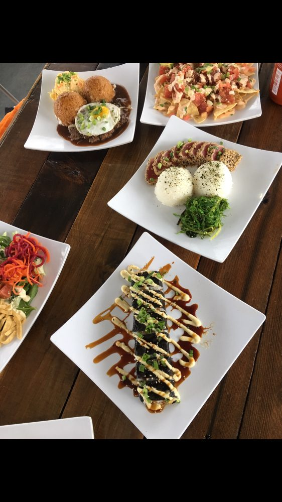 Food from Poke to the Max- Tacoma